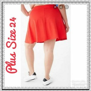 6th & Lane Plus Size Skater Skirt Size 24